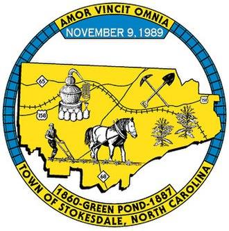Stokesdale, North Carolina - Image: Seal of Stokesdale, North Carolina