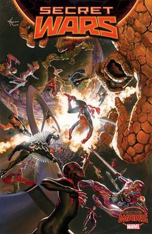Secret Wars (2015 comic book) - Image: Secret Wars