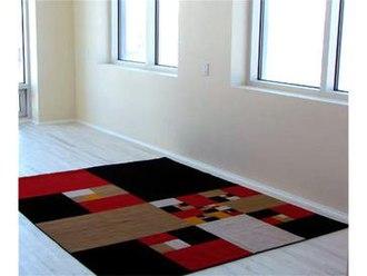 BravinLee programs - James Siena rug for BravinLee editions