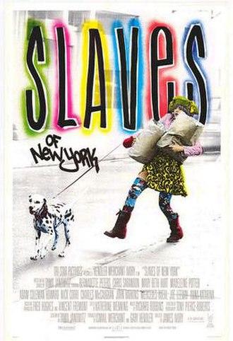 Slaves of New York - Poster for Slaves of New York