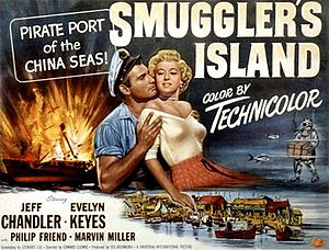 Smuggler's Island - Film poster by Reynold Brown