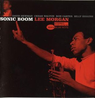 Sonic Boom (Lee Morgan album) - Image: Sonic Boom CD