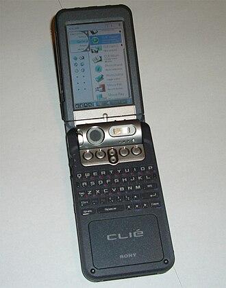 CLIÉ - A CLIÉ PEG-NZ90 Personal Entertainment Organiser model featuring a respectable multimedia specification.