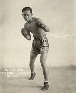 Speedy Dado Filipino boxer