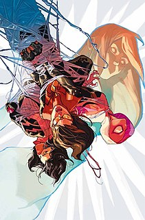 Spider-Woman name of several fictional characters in the Marvel Comics universe