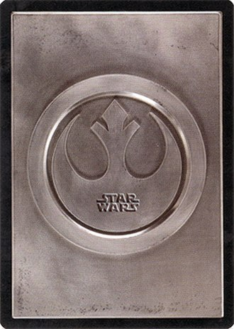 Star Wars Customizable Card Game - Star Wars CCG Light Side cardback