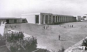 Roma Ostiense railway station - Image: Stazione Ostiense 1940