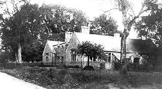 Hurst, Berkshire - The current school building, built in 1843