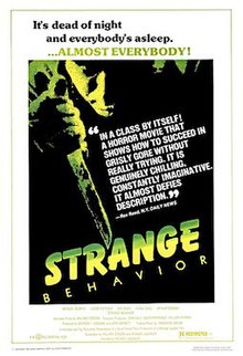 Strange Behavior [aka Dead Kids] Poster