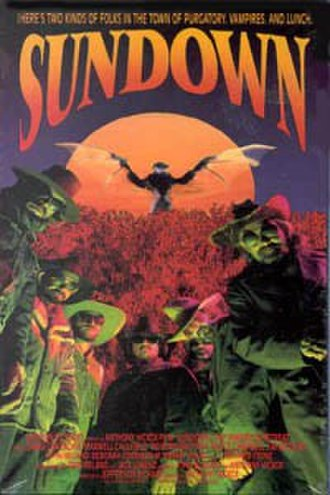 Sundown: The Vampire in Retreat - Theatrical release poster