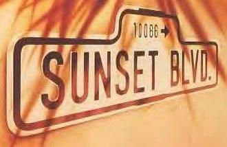 Sunset Boulevard (musical) - Original West End Logo