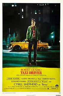 <i>Taxi Driver</i> 1976 American psychological drama film directed by Martin Scorsese