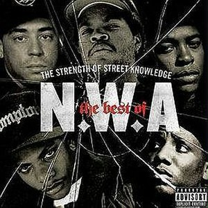 The Best of N.W.A: The Strength of Street Knowledge - Image: The Bestof NWA The Strengthof Street Knowledge