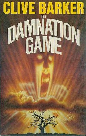 The Damnation Game (novel) - Cover of the first edition, published by  Weidenfeld & Nicolson.