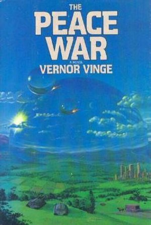 The Peace War - Cover of first edition (hardcover)