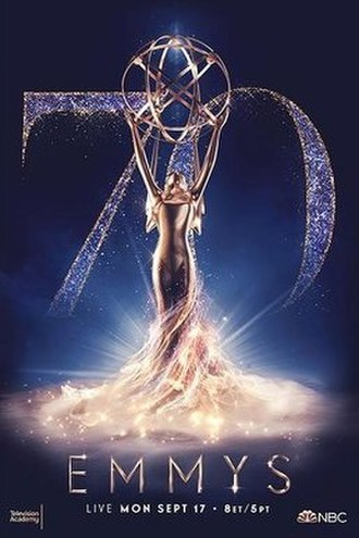 70th Primetime Emmy Awards - Promotional poster