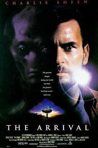 The Arrival (1996 film) - Theatrical film poster
