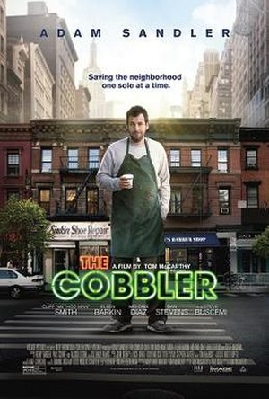 The Cobbler (2014 film) - Theatrical release poster