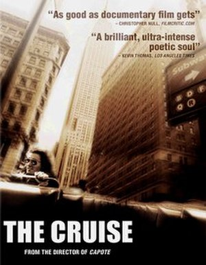 The Cruise (1998 film) - Cover art for the 2006 DVD release, which identifies Miller as the director of Capote.