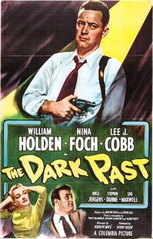 The Dark Past - Theatrical release poster
