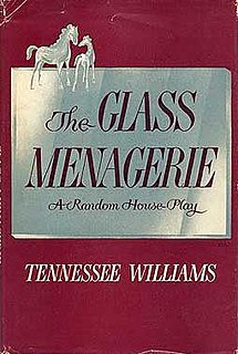 <i>The Glass Menagerie</i> play by Tennessee Williams