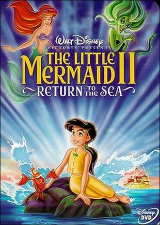 The Little Mermaid II: Return to the Sea - DVD release cover