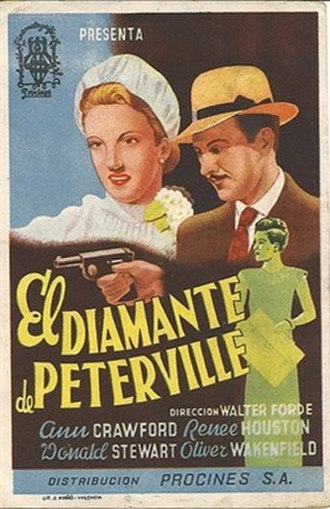 The Peterville Diamond - Spanish poster