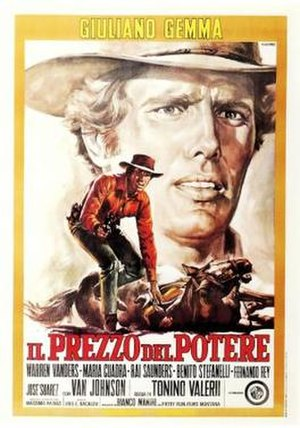 The Price of Power - Italian poster