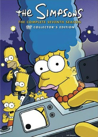 The Simpsons (season 7) - DVD cover