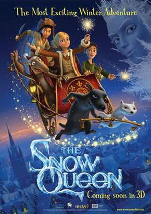 The Snow Queen (2012 film) - Theatrical release poster