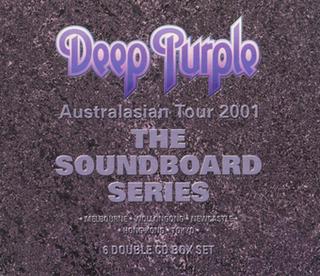 <i>The Soundboard Series</i> 2001 box set of live albums by Deep Purple