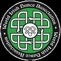 Логотип Всемирной ирландской танцевальной ассоциации re.png