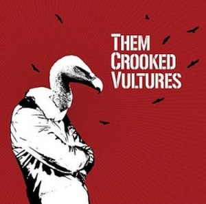 Them Crooked Vultures (album) - Image: Them Crooked Vultures Cover