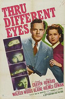 <i>Thru Different Eyes</i> 1942 film by Thomas Z. Loring