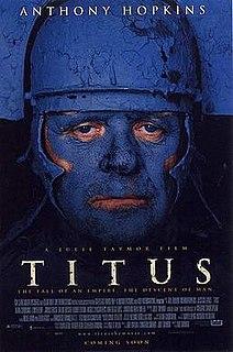 <i>Titus</i> (film) 1999 film directed by Julie Taymor
