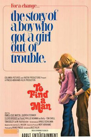 To Find a Man - Theatrical release poster