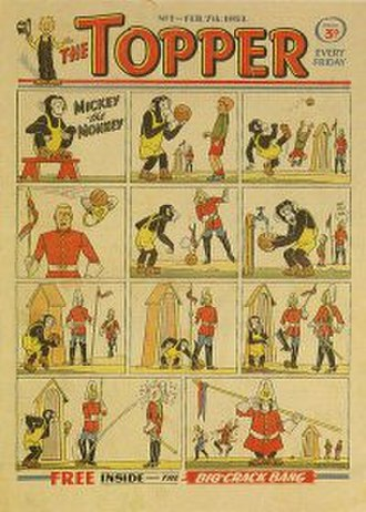 The Topper (comics) - Image: Topper No 1