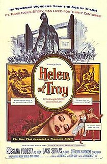 <i>Helen of Troy</i> (film) 1956 film directed by Robert Wise