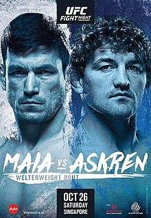 UFC Fight Night: Maia vs. Askr...