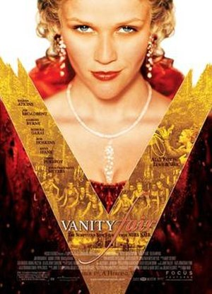 Vanity Fair (2004 film) - Theatrical release poster