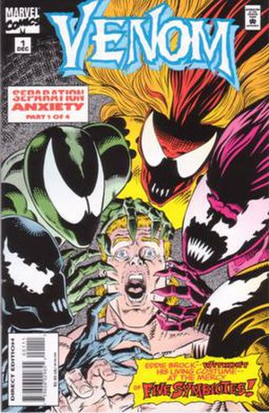 Venom: Separation Anxiety - Image: Venom Separation Anxiety no 1