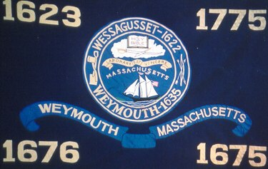 Flag of Town of Weymouth