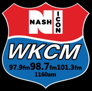 WKCM - Image: WKCM Nash 1160 101.3 97.9 logo