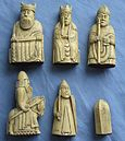 Lewis chessmen, iconic image of Scandinavian Scotland in Maddadsson's time
