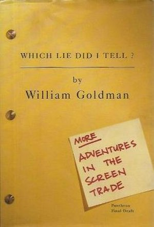 Which Lie Did I Tell? - First edition