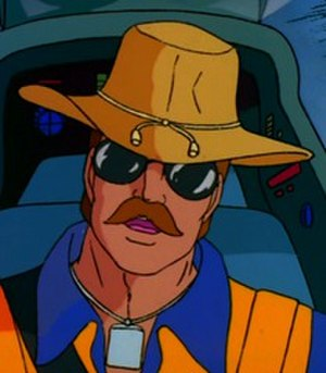 Wild Bill (G.I. Joe) - Wild Bill as seen in the Sunbow/Marvel G.I. Joe cartoon.