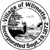 Official seal of Village of Wilmette, Illinois
