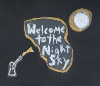 Welcome to the Night Sky - Image: Wintersleep Welcome To The Night Sky Album Cover