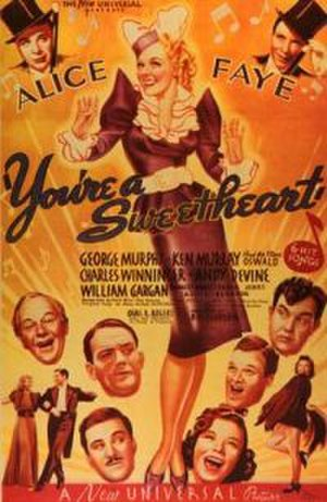 You're a Sweetheart - Theatrical Poster