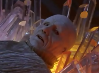 Zordon - Zordon outside of his tube in Mighty Morphin Power Rangers: The Movie